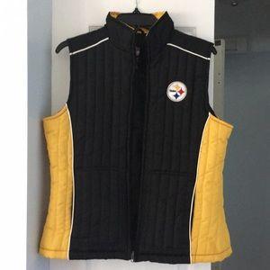 Steelers Women's Vest, sz M